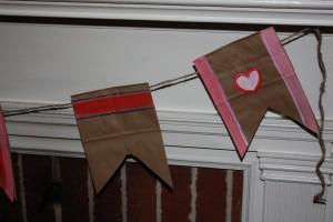 Paper Bag Garland