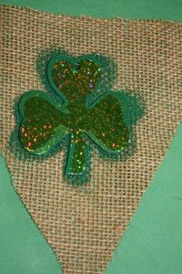 St. Patrick's Day Burlap Bunting