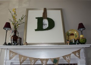 Mantel Ideas for March