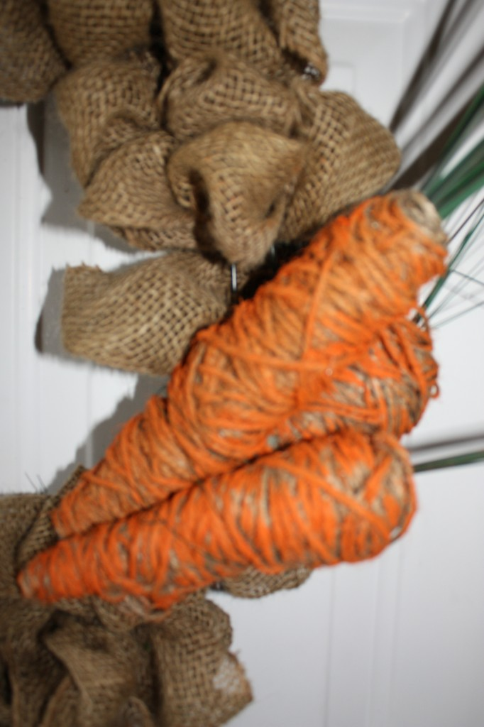 Easy Twine Wrapped Carrots