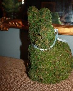 Moss Covered Bunny 3