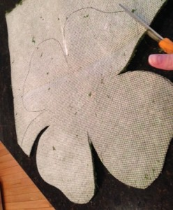moss covered shamrock