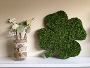 moss covered shamrocks