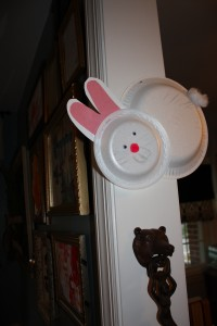 Kids' Craft Styrofoam Plate Bunny