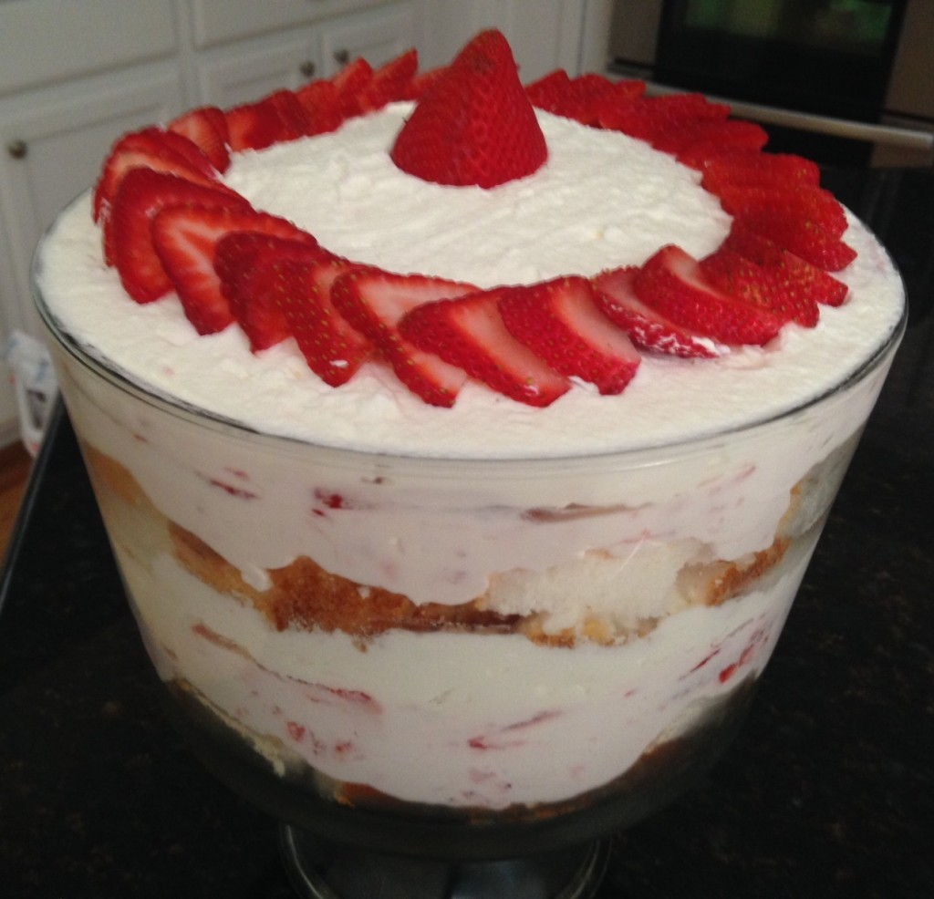 strawberry trifle 6