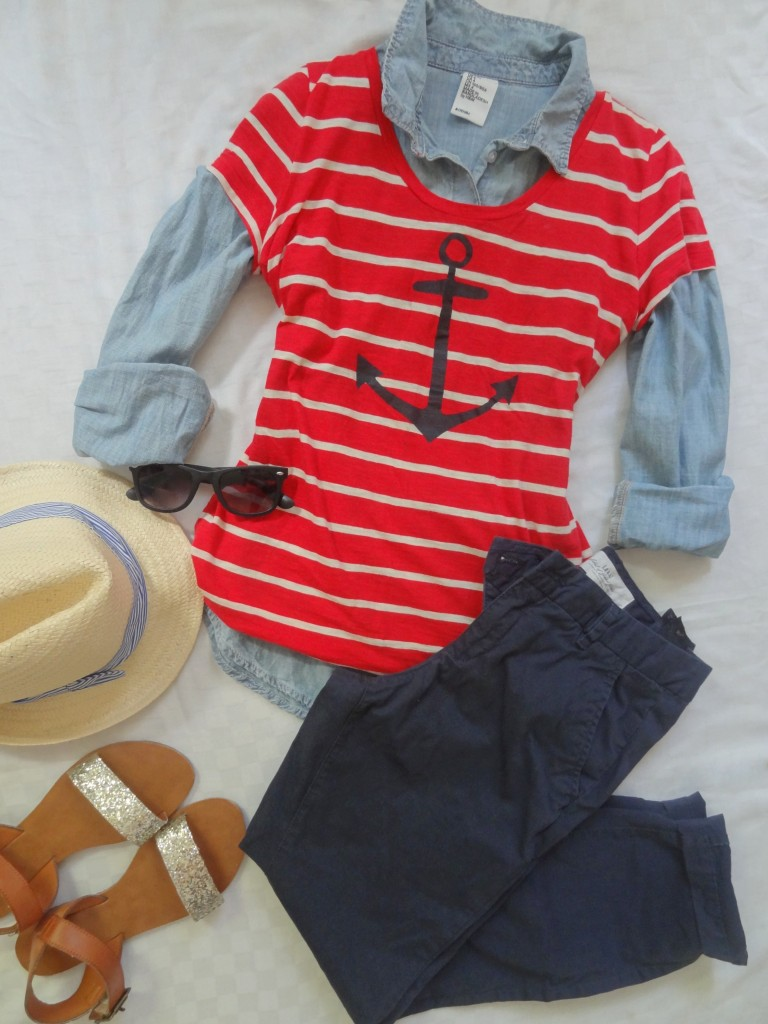 red white and blue outfit 4