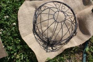 Burlap Basket Liner