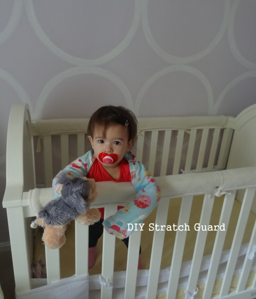 baby eczema DIY stratch guard