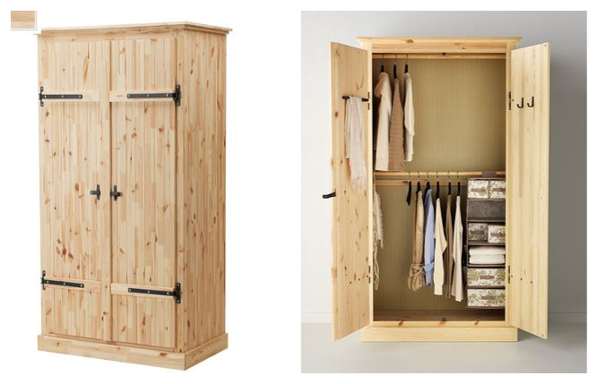ikea hack: armoire storage upgrade part one - teach love craft