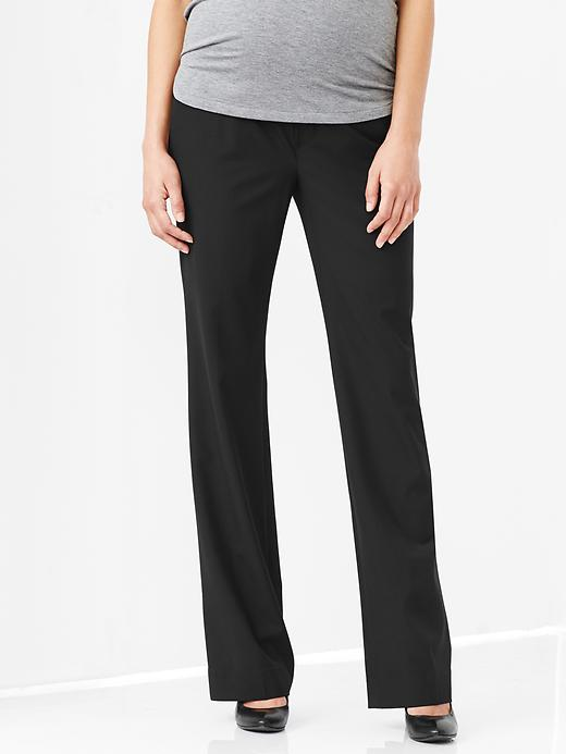 I really like these pants for work. They were more expensive than Old Navy's slacks, but they fit great and are a quality product.