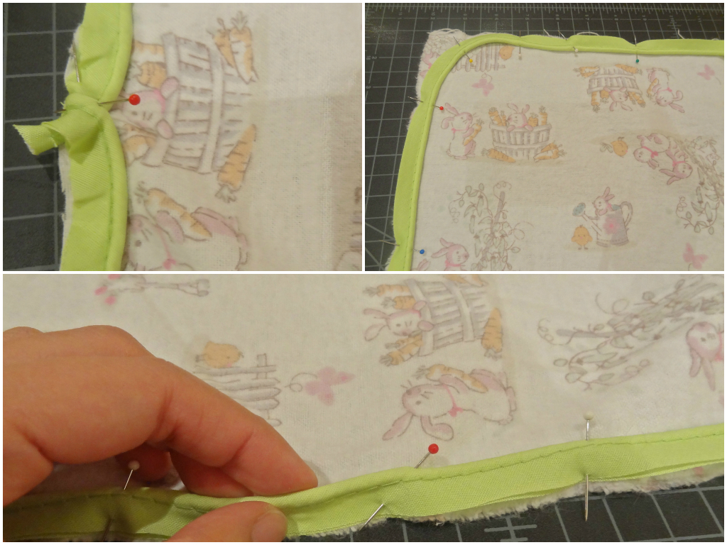 DIY swaddle blanket 2