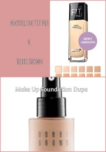 make up foundation dupe